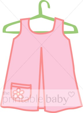 Dress clipart baby dress Collection dress images Baby Baby