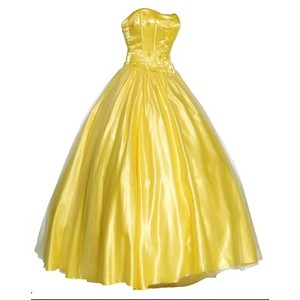 Gown clipart ball gown Gowns Polyvore yellow gown Ball