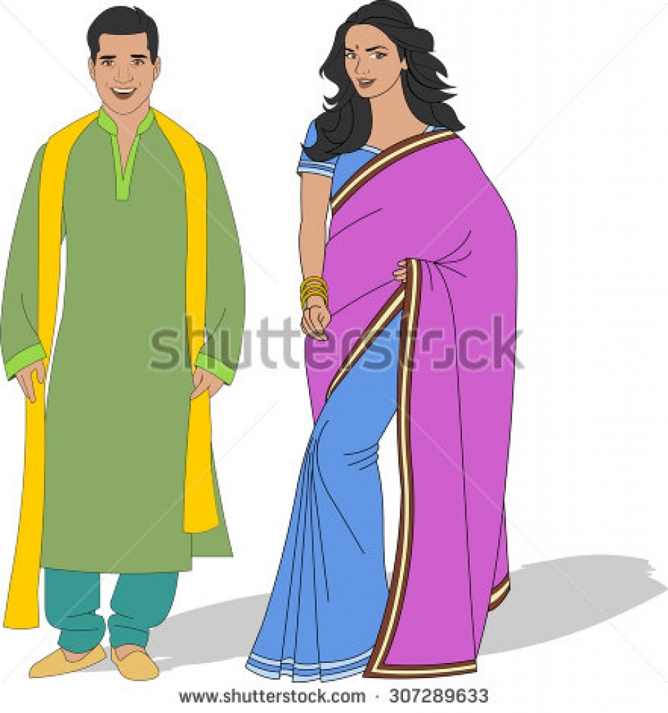 Saree clipart bengali Indian BBCpersian7 traditional clipart collections