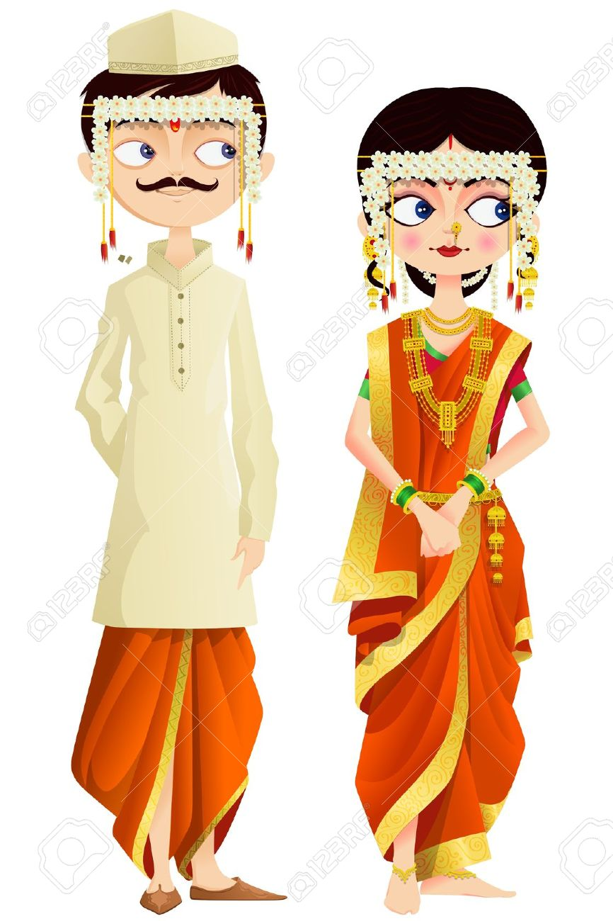 Culture clipart indian couple Clipart ClipartFest clipart Indian Indian