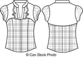 White Dress clipart blouse And Dress  Stock Illustrations