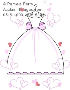 Dress clipart bridal shower A of Image Bridal a