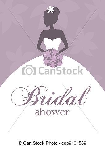 Elegance  clipart bridal shower Bridal  Shower of a