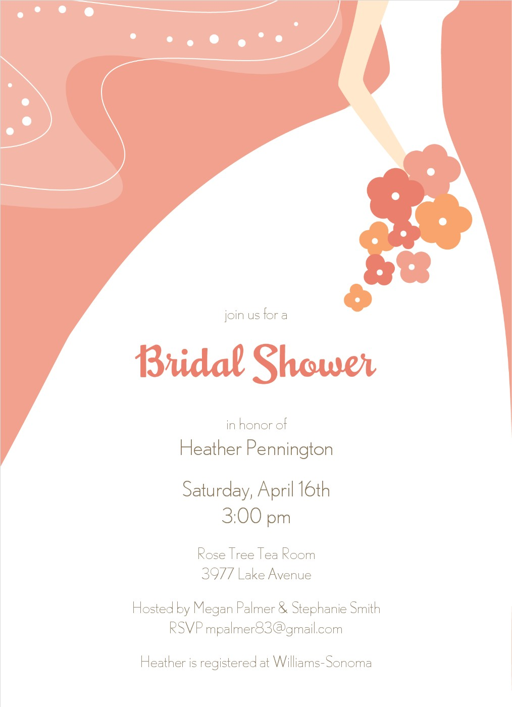 Dress clipart bridal shower Bridal art Bridal collection clipart