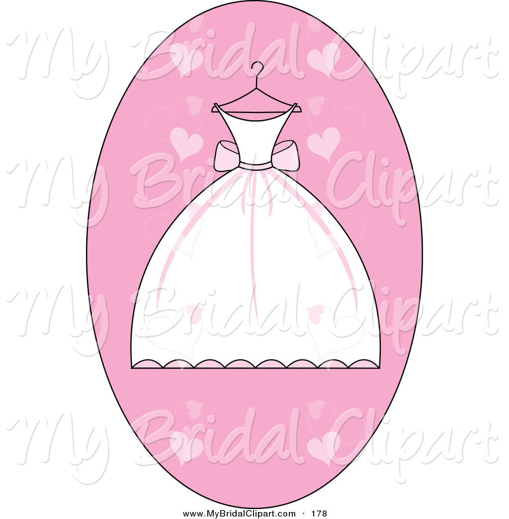 Gown clipart bride dress Shower  Bridal