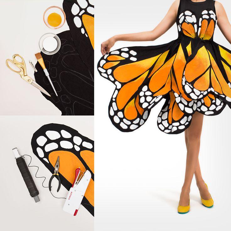 Dress clipart butterfly #6