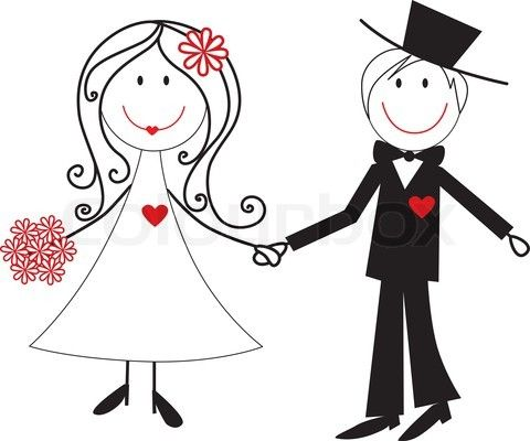 Wedding clipart couple Wedding proposal clip Wedding Vlad