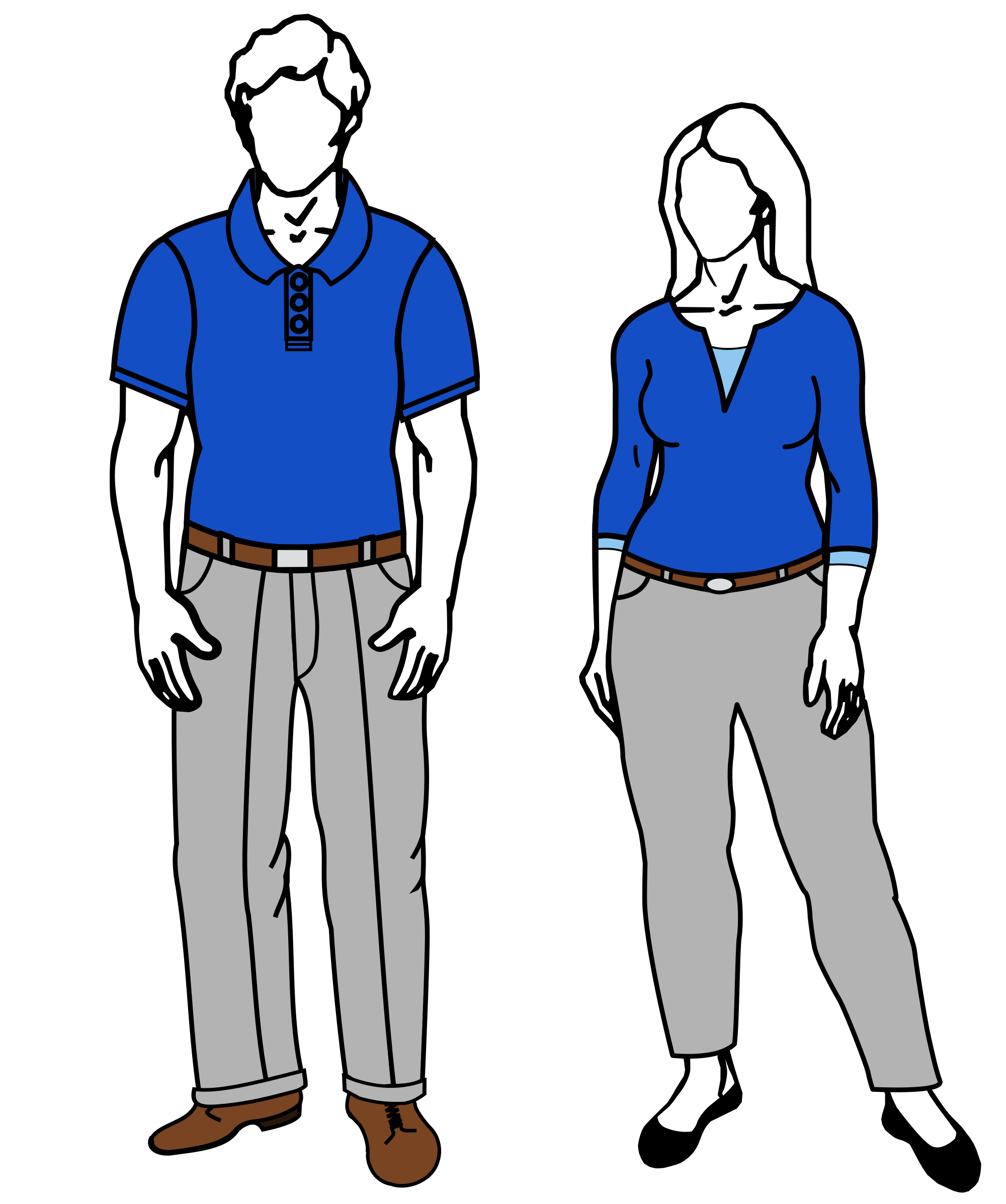 Codeyy clipart business casual dress Businessman Flat clipart  in