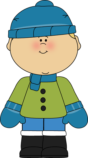 Dress clipart children's Winter for police Dressed Boy