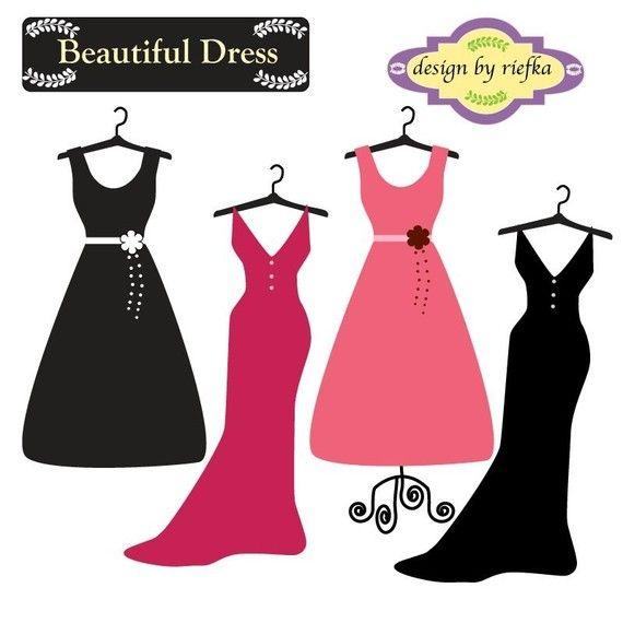 Dress clipart cocktail dress Dress 42 60th Beautiful Pinterest