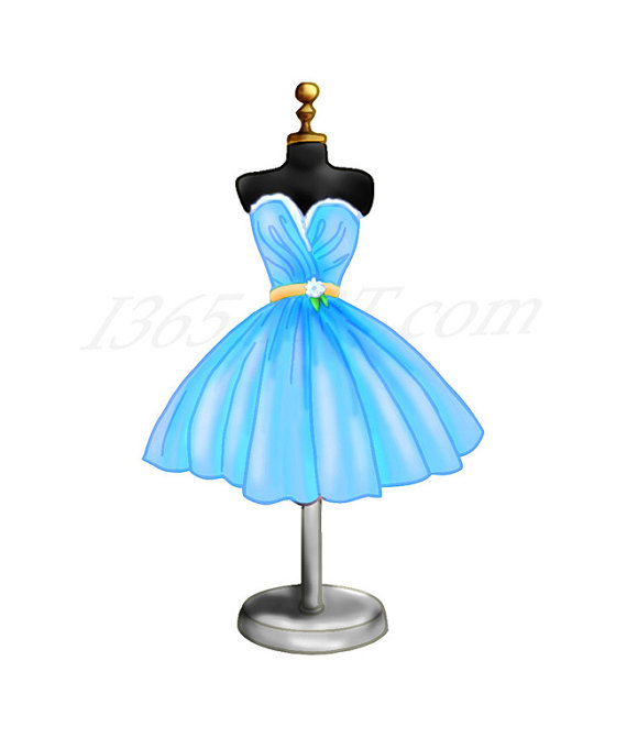 Dress clipart cocktail dress Is digital Cocktail This Pack