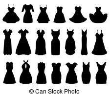 Dress clipart cocktail dress Cocktail Clip Dresses White Dresses