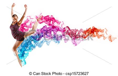 Dress clipart color Art of in color Girl