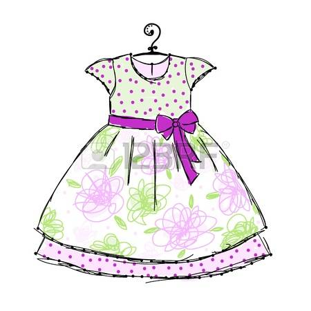 Dress clipart cute In 899 clipart Little Stock