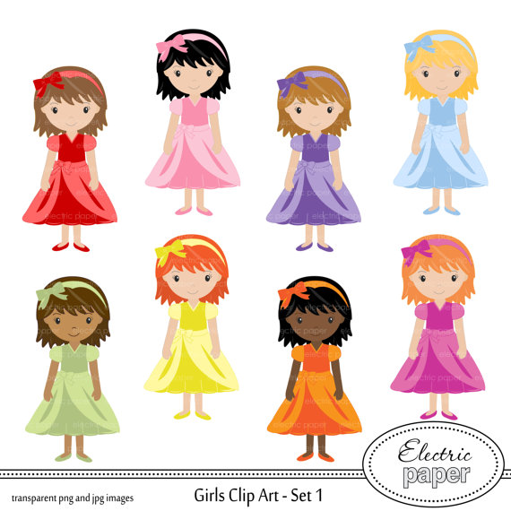 Dress clipart cute ElectricPaper in Girl from Cute