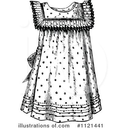 White Dress clipart black Dress by #1121441 Illustration (RF)
