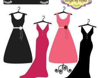 Red Dress clipart party dress About party more on 60th