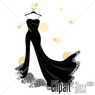 Dress clipart elegant dress Clip clip dress Download –