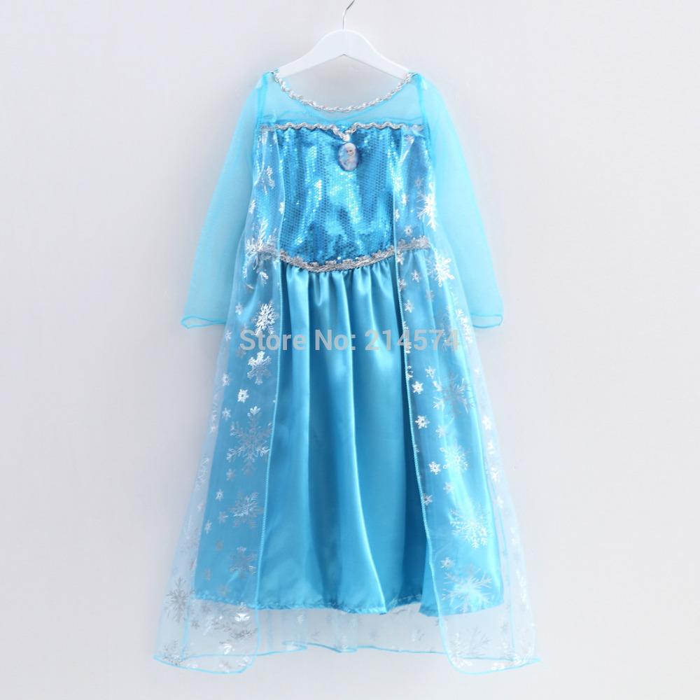 Dress clipart elsa dress Girls Dresses Princess Fille Summer