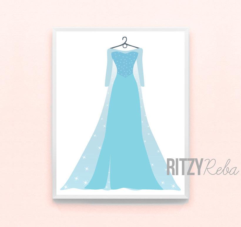 Dress clipart elsa dress Elsa Nursery  Frozen Princess