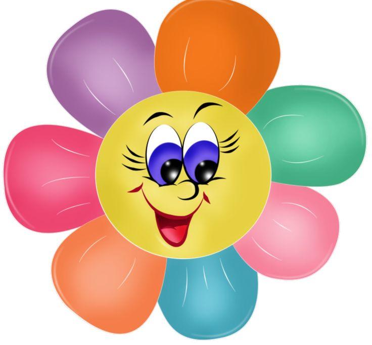 Smiley clipart flower FacesSmiley 70 on ClipartPretty emoji