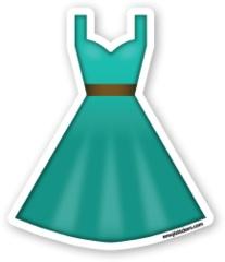 Dress clipart emoji Best emojis Dress on images