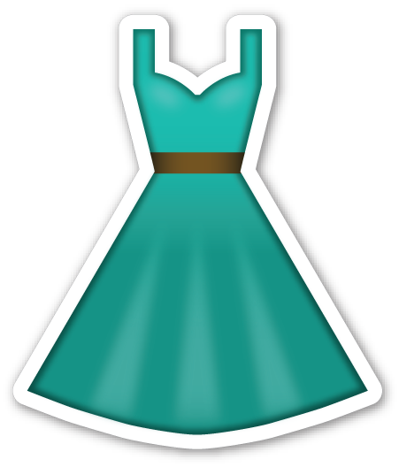 Dress clipart emoji Emojis Dress and Smileys Ribbon
