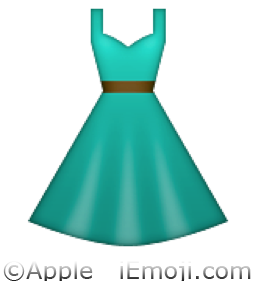 Dress clipart emoji S Polyvore 1 Polyvore emoji