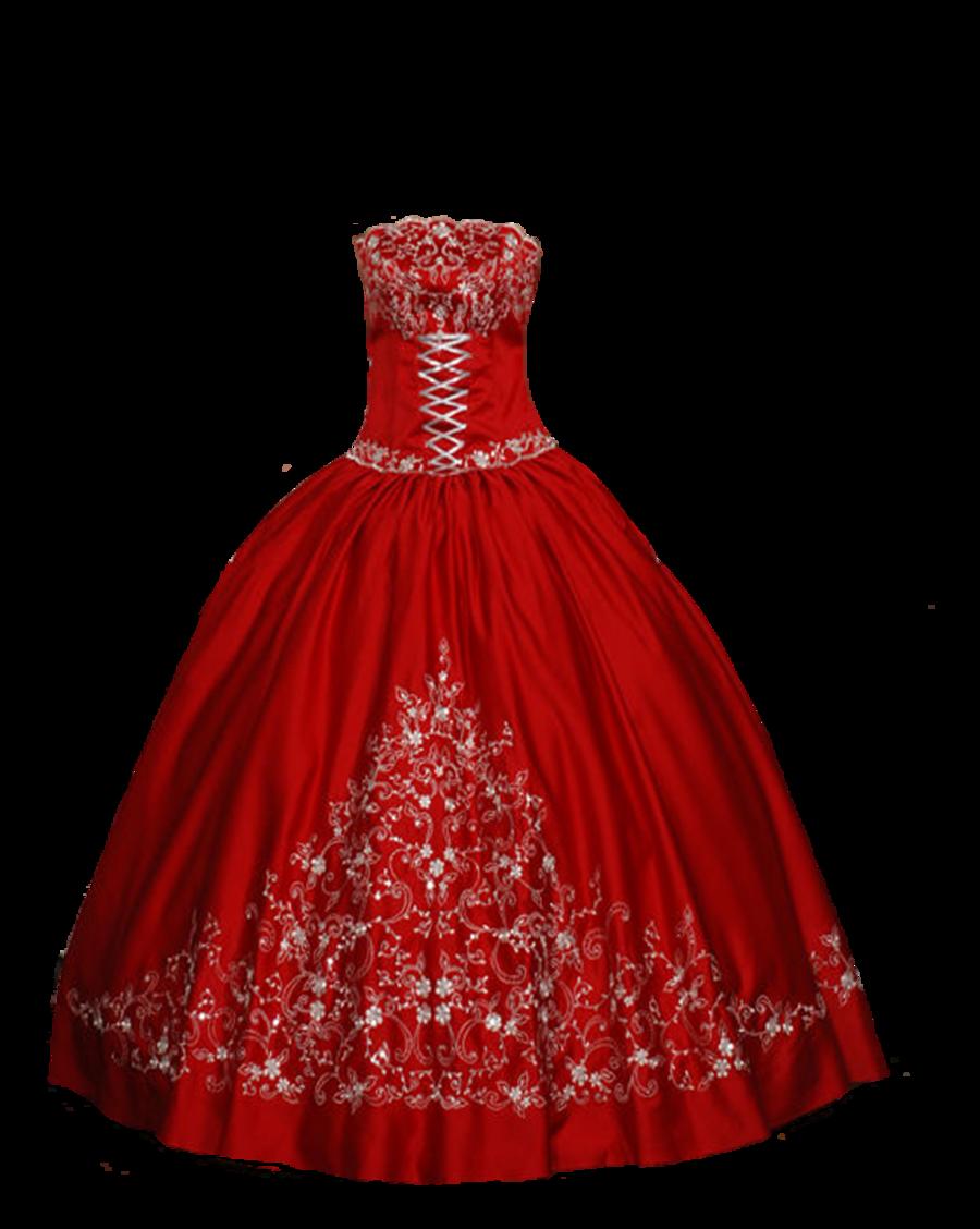 Dress clipart evening dress Art Dress_Evening Red Evening Clip