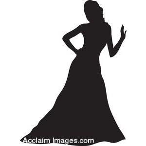 Dress clipart evening dress Gown Art of Art Clip