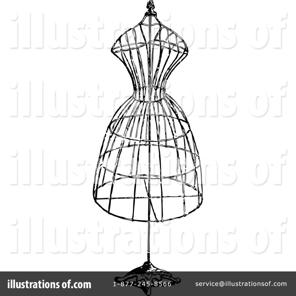 Sketch clipart fashion design Illustration Vintage Design #1113724 Royalty