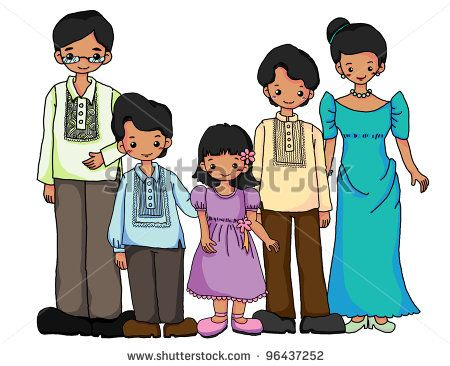 Dress clipart filipiniana This on images 23 Pinterest