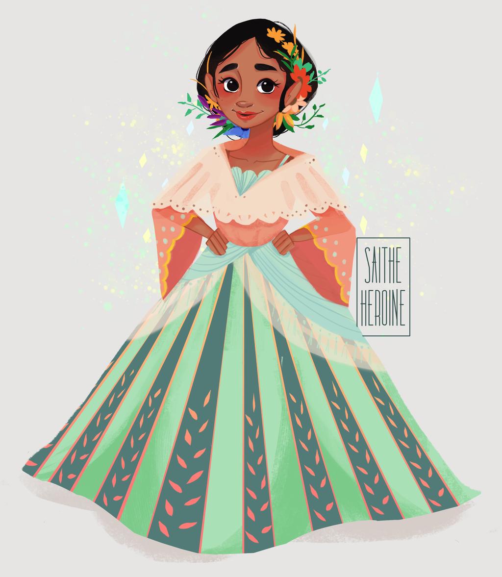 Dress clipart filipiniana Saitheheroine Filipiniana saitheheroine by Pastel