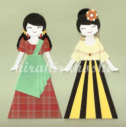 Dress clipart filipiniana GIRL Maria Filipiniana images Pinterest