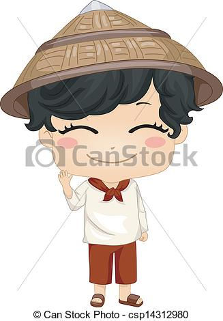 Dress clipart filipino National Filipino Little Kamisa Boy