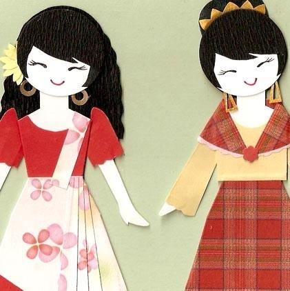 Dress clipart filipino Saya dress collection images clipart