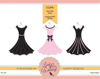 Gown clipart formal dress Scrapbook Clipart Prom Dresses Frilly