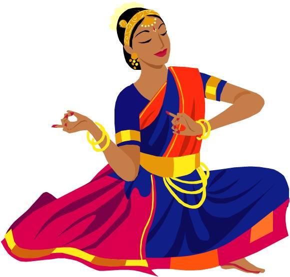 Model clipart indian dress #5