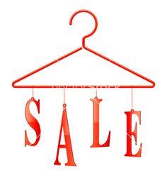 Dress clipart hanger vector On vector hanger tags Sale