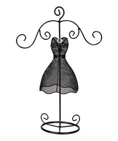 Dress clipart holder Black Jewelry Metal by Dress