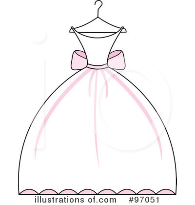 Gown clipart illustration #97051 by Illustration Clipart by