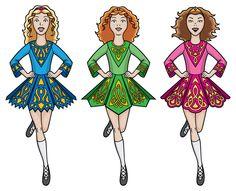 Dress clipart irish dancing And shoes irish Irish Photo