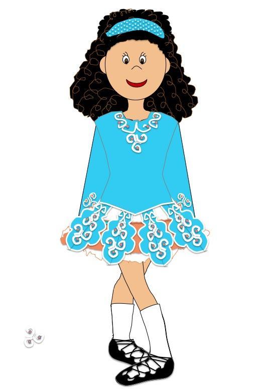 Dress clipart irish dancing Cliparts Zone Gifts Irish ·