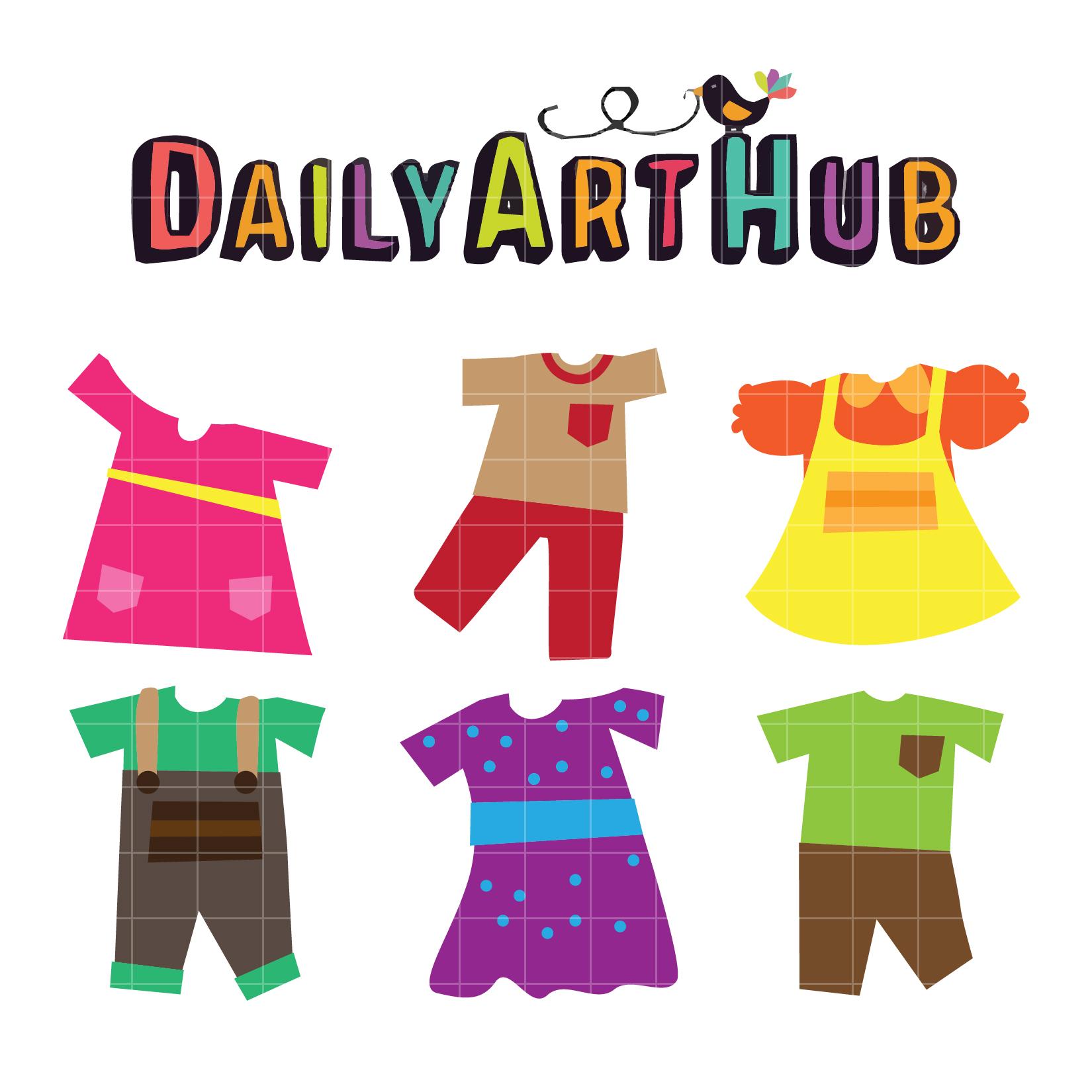 Dress clipart kid dress Dress Dress Clip Daily Kids