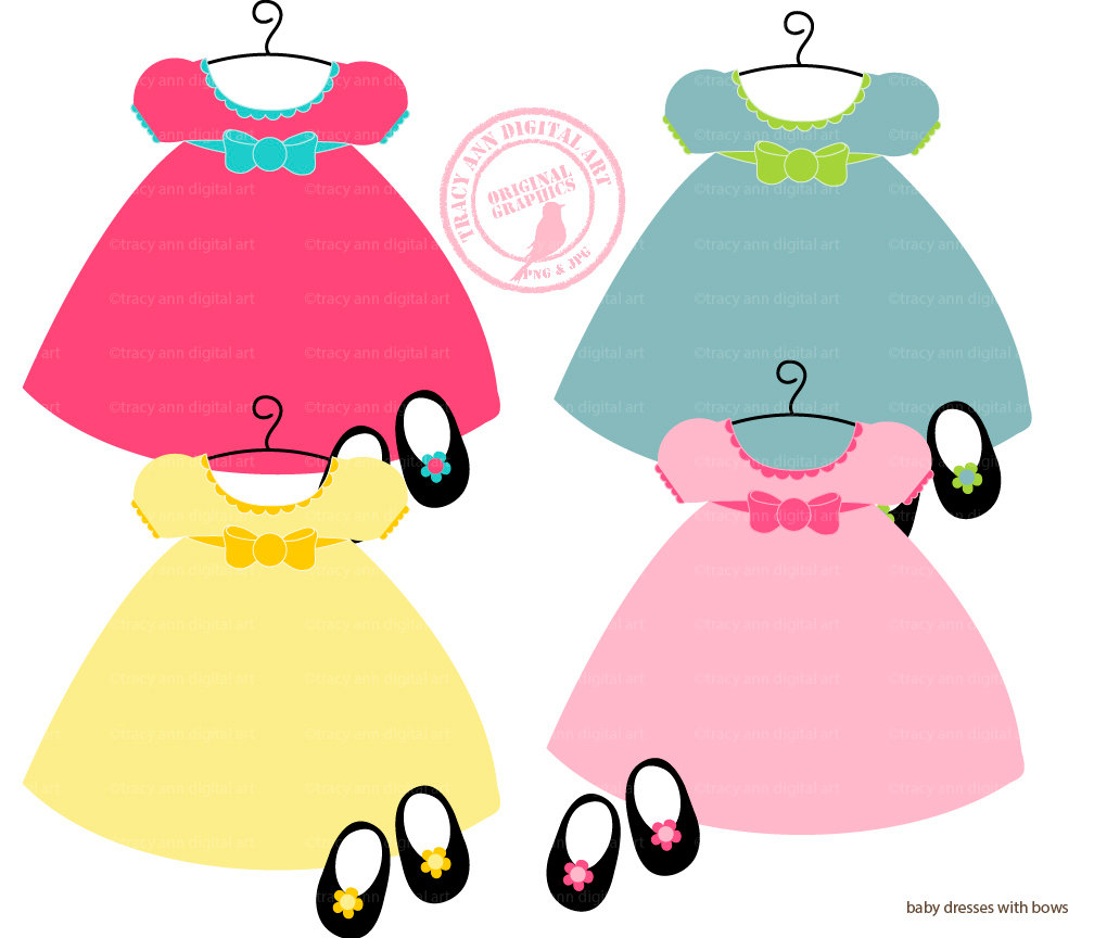 Gown clipart baby dress Panda Get Free Dressed kids%20clothes%20clipart