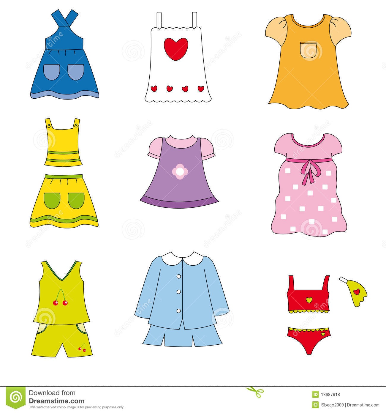 Yellow Dress clipart summer dress Free Collection for clothing Clothes