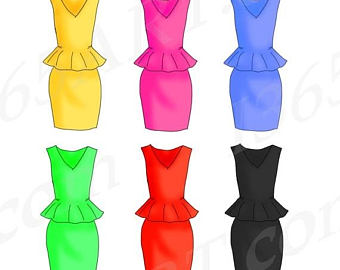 Blue Dress clipart yellow dress Party Fashion 50% Clipart Invitations