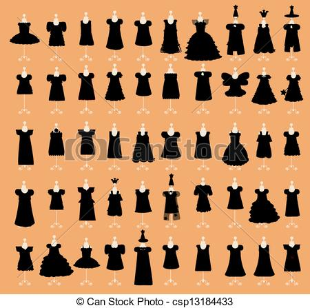 Dress clipart little black dress Csp13184433  csp13184433 Set Search