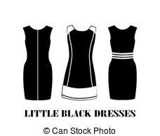 Dress clipart little black dress Drawings #7 clipart Black Black