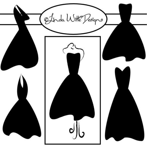 Dress clipart little black dress Drawings #14 clipart Black Black